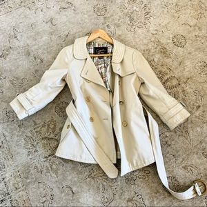 Coach 1941 3/4 sleeve trench